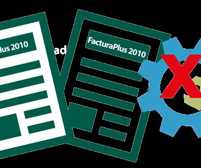 Acaba el soporte de Contaplus y Facturaplus 2010