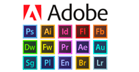 Pack Adobe logo png