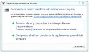 Error en Windows 8