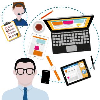 Contrata el servicio de soporte informático a distancia y evitaremos que las incidencias afecten a la productividad de tu empresa.