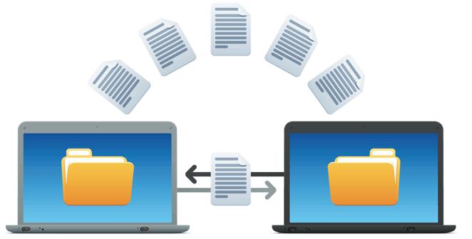 Compartir documentos entre usuarios internos y extersno