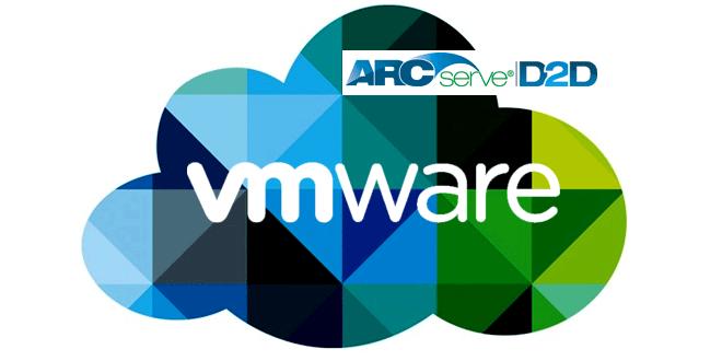 Backup de máquinas virtuales en entornos VMware mediante CA D2D