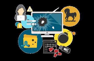 CInco aliados en la seguridad de tu web. AWERTY Servicios Informáticos