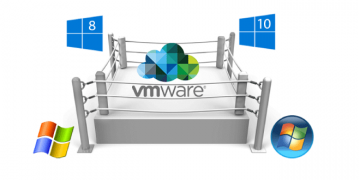 vmware gestión de SO