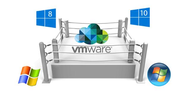 vmware gestión de SO