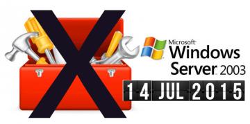 Fin de soporte Windows Server 2003