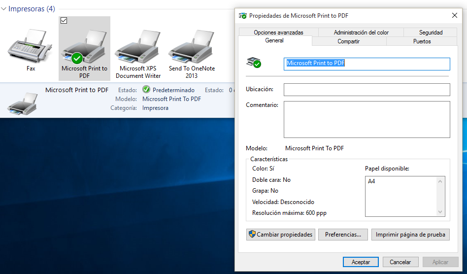 how to add microsoft pdf printer windows 10