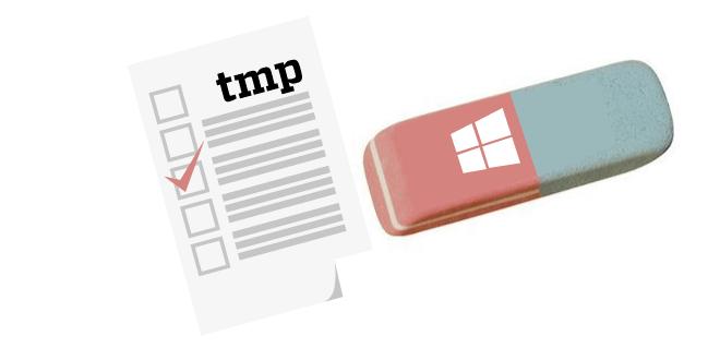 Wimdows 10 elimina archivos temporales