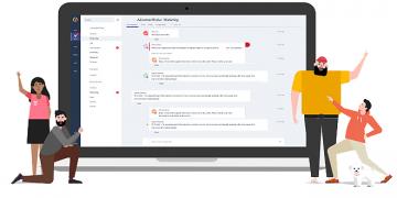 Mayor productividad con Microsoft Teams
