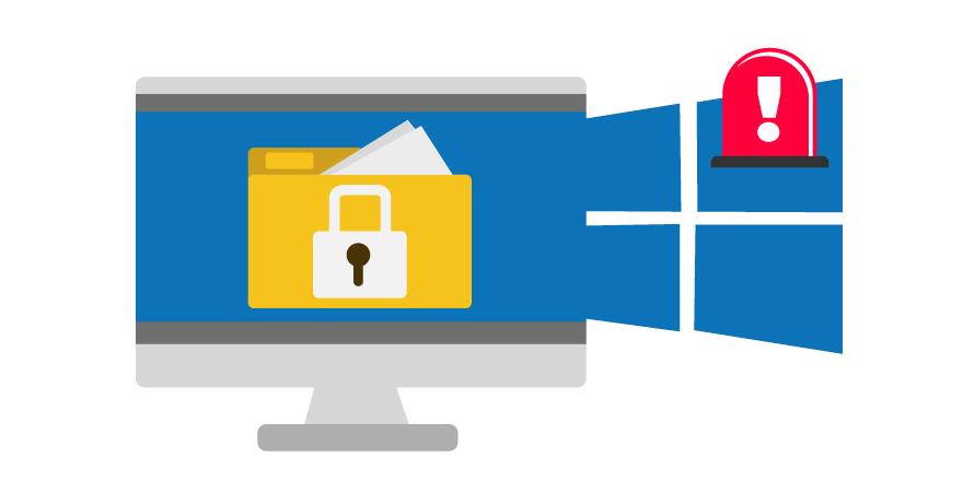 Windows 10 protegera contra el ransomware