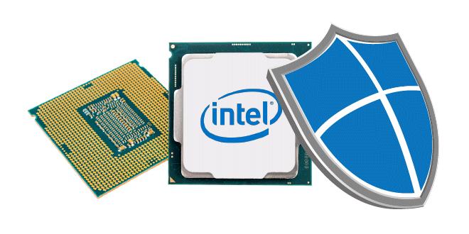Solución problema Intel