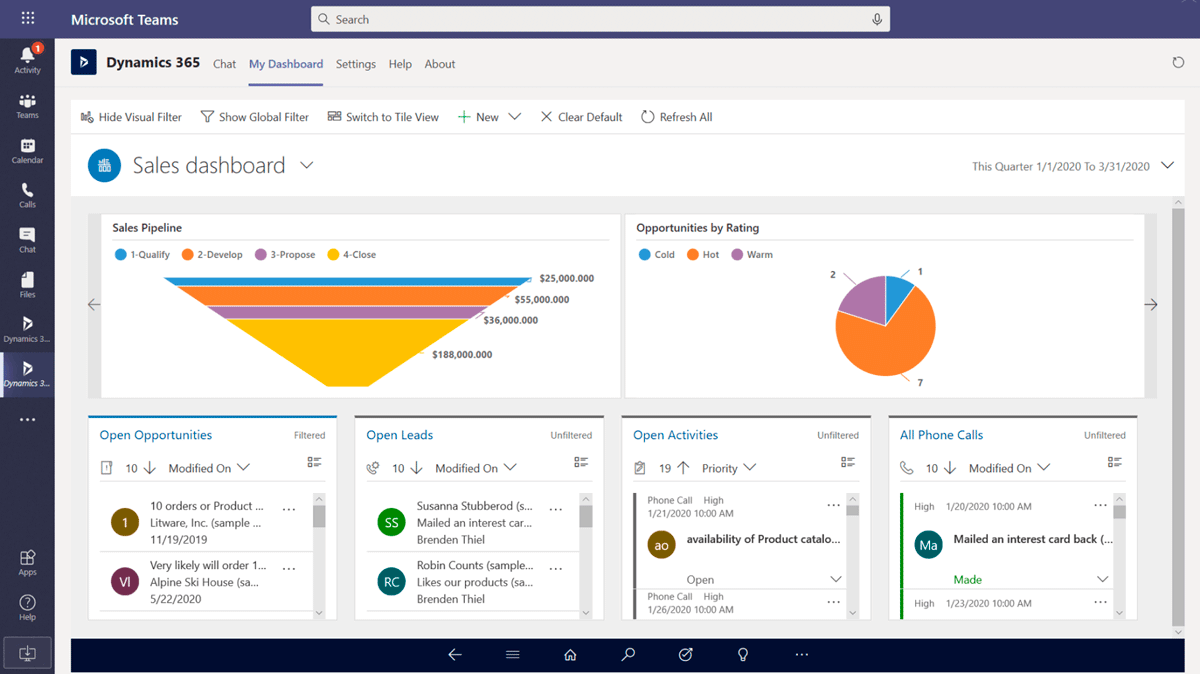 AWERTY Dynamics 365<br><strong>Ventas</strong>