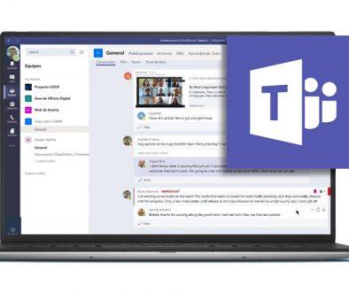 Microsoft Teams Comunicacion fluida